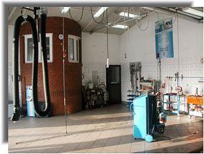 Warsztat serwisu klimatyzacji